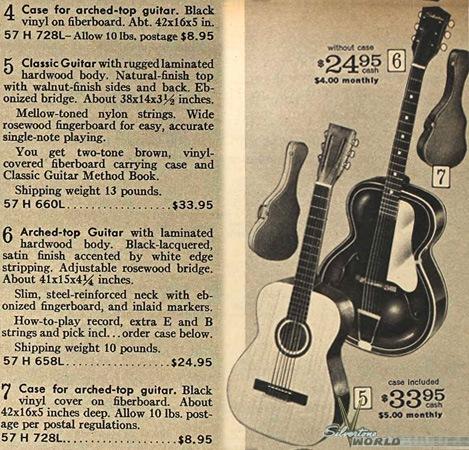 Dating a silvertone guitar 9